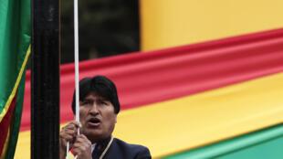 Le président bolivien Evo Morales a tenu un discours très offensif à l'égard du Chili à l'occasion du « Jour de la mer », vendredi 23 mars 2012