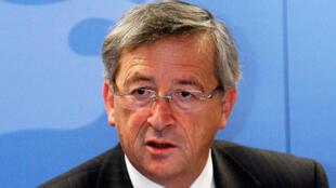 Le Premier ministre luxembourgeois, Jean-Claude Juncker, en octobre 2008.