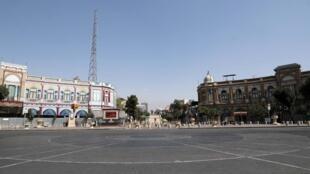 Une place de Téhéran, le 30 août 2020 (photo d'illustration).