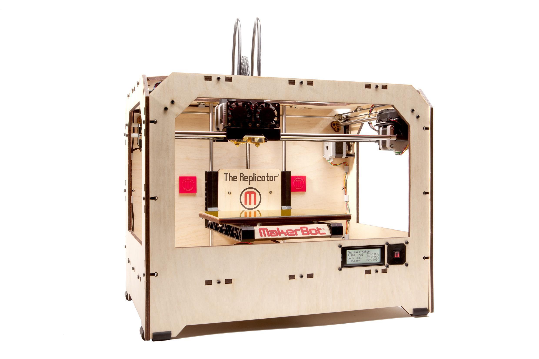 Une imprimante 3D.