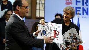 PHOTO Hollande Plantu - 15 janvier 2017