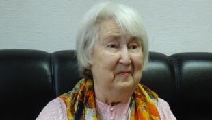Angelina Bouchouieva, elle avait deux ans quand son père a été fusillé et sa mère déportée dans un camp.