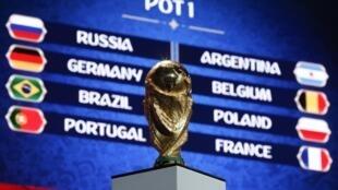 Sorteio do Mundial 2018 decorre nesta sexta-feira 1 de Dezembro.
