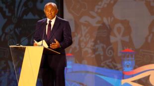 Le président de la CAF, le Magache Ahmad.