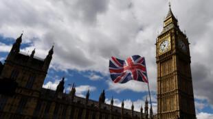 La Chambre des communes, qui siège au palais de Westminster, à Londres.
