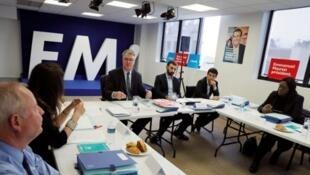 Reunião da comissão de investiduras da República em Marcha