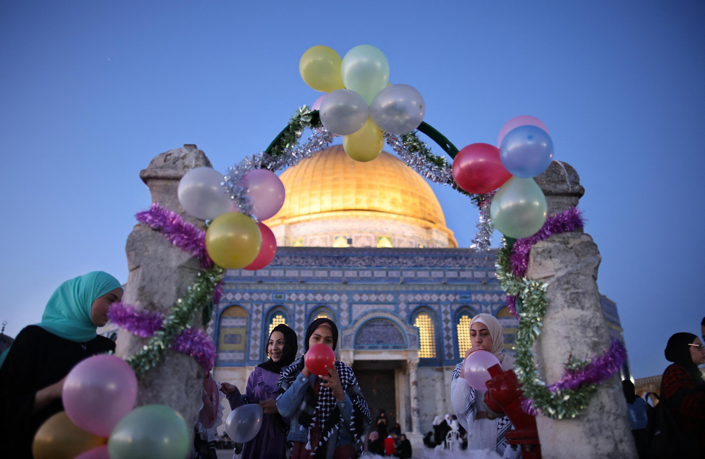 jerusalem aid el fitr conflit israelo palestinien palestine israel mosquée
