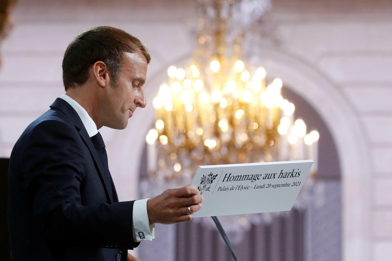 France - Elysée - Emmanuel Macron - Harkis
