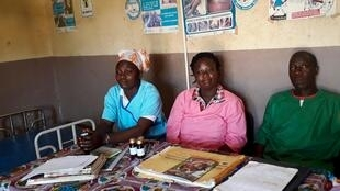 L'équipe du centre de santé de Gbakoré, en Guinée.