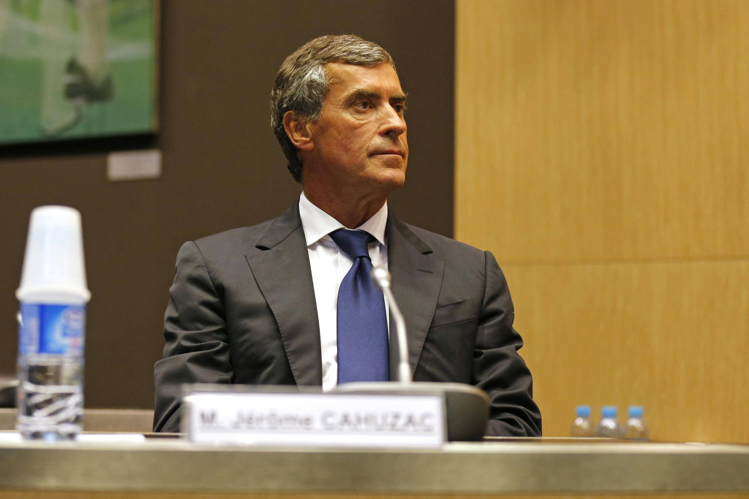 Jérôme Cahuzac waits for the start of a hearing at the National Assembly in Paris, 23 July, 2013
