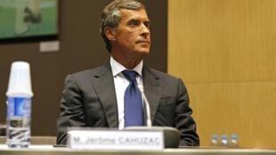 Jérôme Cahuzac lors d'une comparution devant la Comission d'enquête parlementaire le 23 juillet 2013.