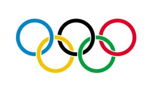 圖為國際奧委會五環標識