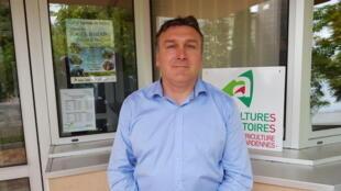 Sébastien Lorriette, président de la Chambre d'agriculture des Ardennes.