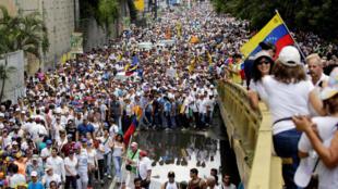 Демонстрация сторонников оппозиции в Венесуэле, 1 сентября 2016 г.
