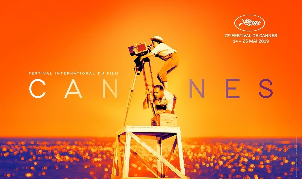 Afiche del festival de Cannes 2019.