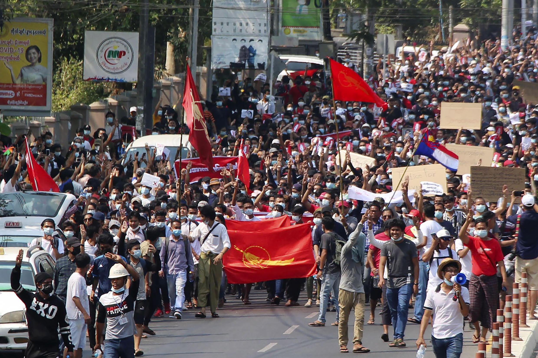 Birmanie - 2e jour manifestation