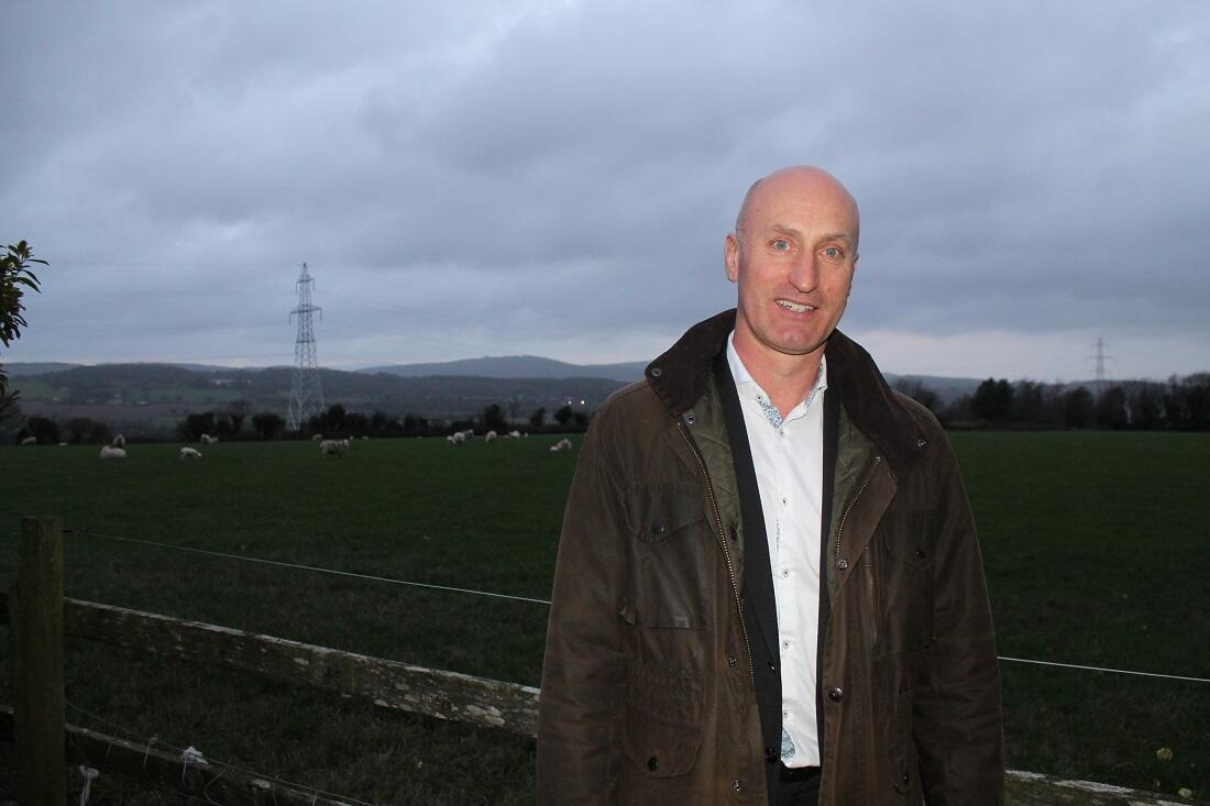 Angus Woods, président de l'Association irlandaise des éleveurs bovins.