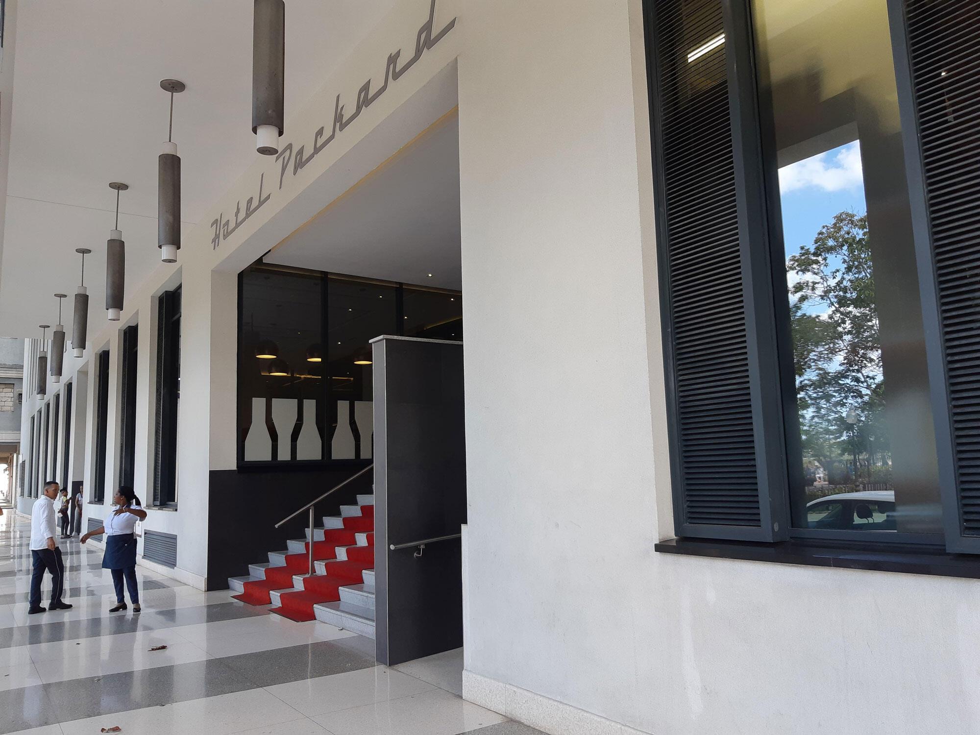 La Havane: l'hôtel Grand Packard construit par le groupe espagnol Iberostar a été inauguré par le président cubain Miguel Diaz Canel en octobre dernier.