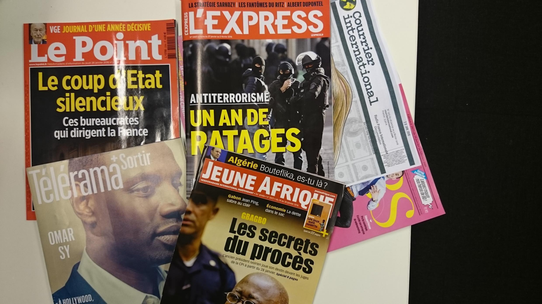Capas dos semanários franceses