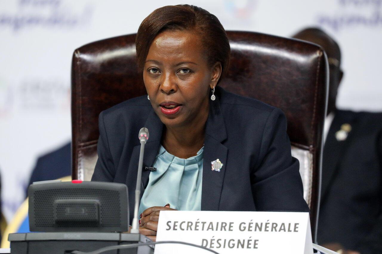 Louise Mushikiwabo, secrétaire générale de la Francophonie.