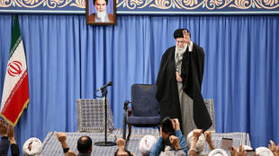 Discurso del ayatolá Alí Jameini tras el ataque, este 8 de enero de 2020 en Teherán.