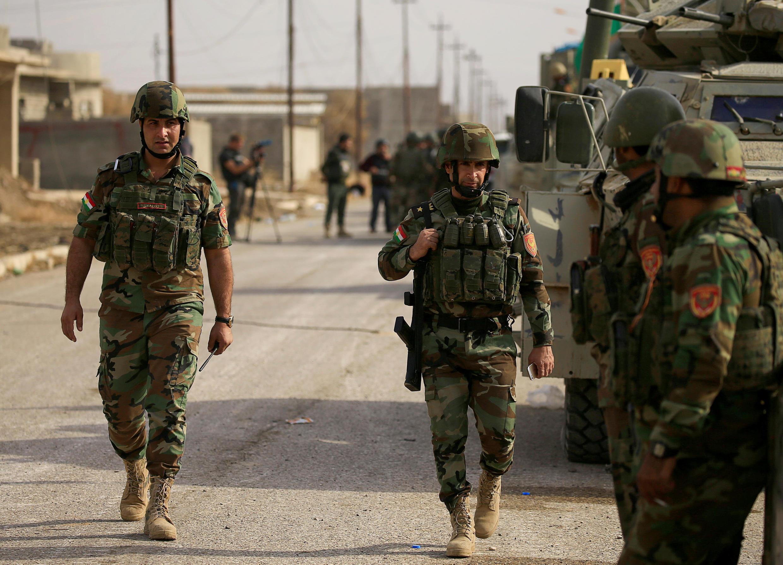 No Iraque, soldados avançaram rumo a Mossul, último reduto do EI no país.