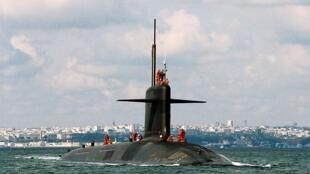 Một tàu ngầm nguyên tử trang bị hỏa tiễn đạn đạo của Pháp, vũ khí công nghệ mà Trung Quốc rất thèm muốn.
