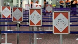 Aéeroport Roissy pictogrammes