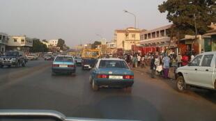 Bissau, capitale de Guinée-Bissau.
