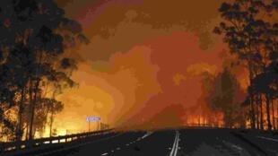 El 9 de enero de 2013, 140 kilómetros al sur de Sydney.