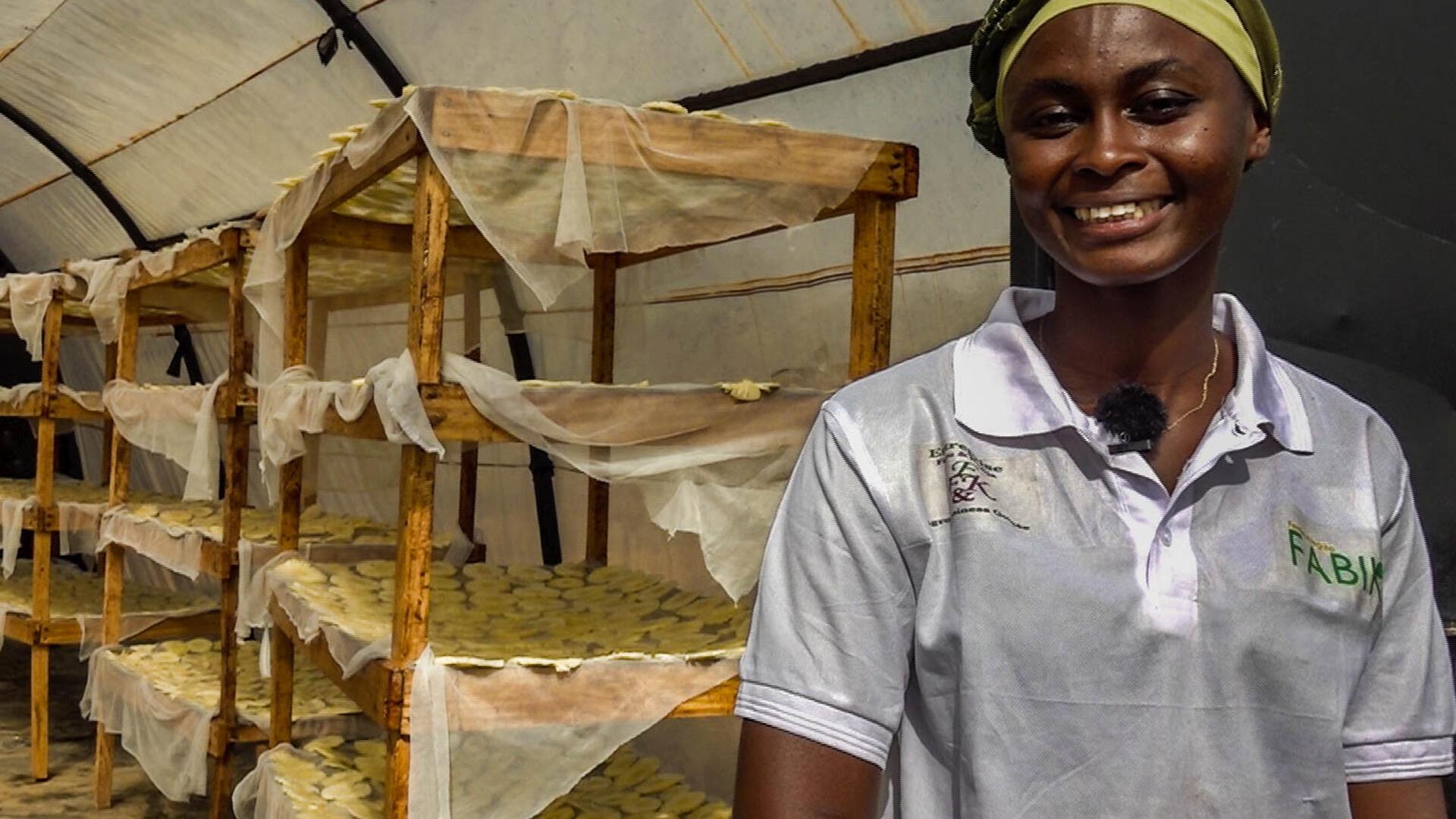Fatoumata - Cissoko - transformation - ananas