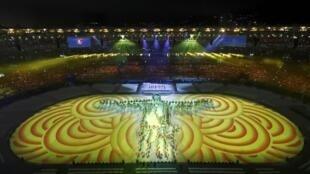 La ceremonia de clausura de los Juegos Olímpicos en Rio de Janeiro, el 21 de agosto de 2016.