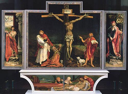 Matthias Grûnewald's Issenheim altarpiece