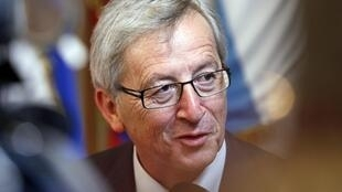 Le président de l'Eurogroupe Jean-Claude Juncker a tenu des propos volontaristes.