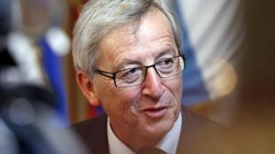 Firaministan luxembourg Jean-Claude Juncker