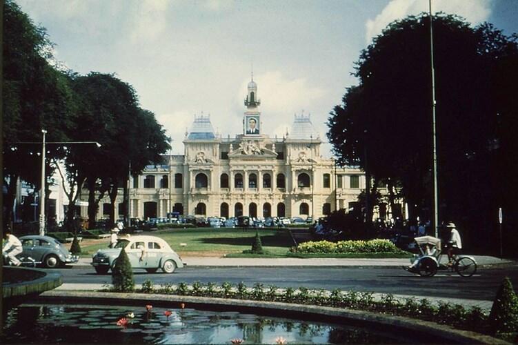 Tòa Đô Chánh Sài Gòn năm 1956.