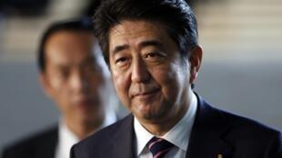Le Premier ministre japonais Shinzo Abe, à Tokyo, le 3 septembre 2014.