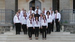 The Saint Ingnatius Cathedral choir