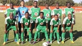 A Liga Muçulmana, vencedor do Moçambola 2014 e bicampeão moçambicano
