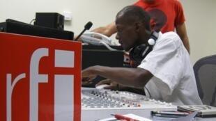Le studio de RFI à Dar es Salam en Tanzanie s'où sont émises nos émissions en kiswahili.