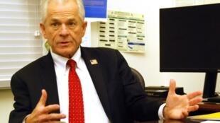 美國白宮貿易顧問納瓦羅。