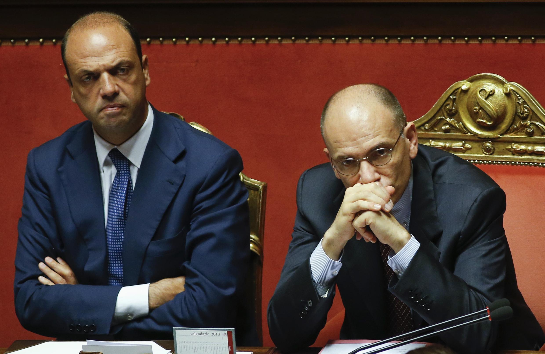 El primer ministro italiano Enrico Letta.