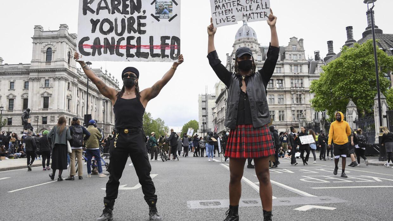 无公正 不停歇:欧洲各大城市加入反警暴浪潮