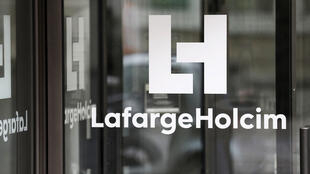 Logo của tập đoàn xi măng LafargeHolcim.