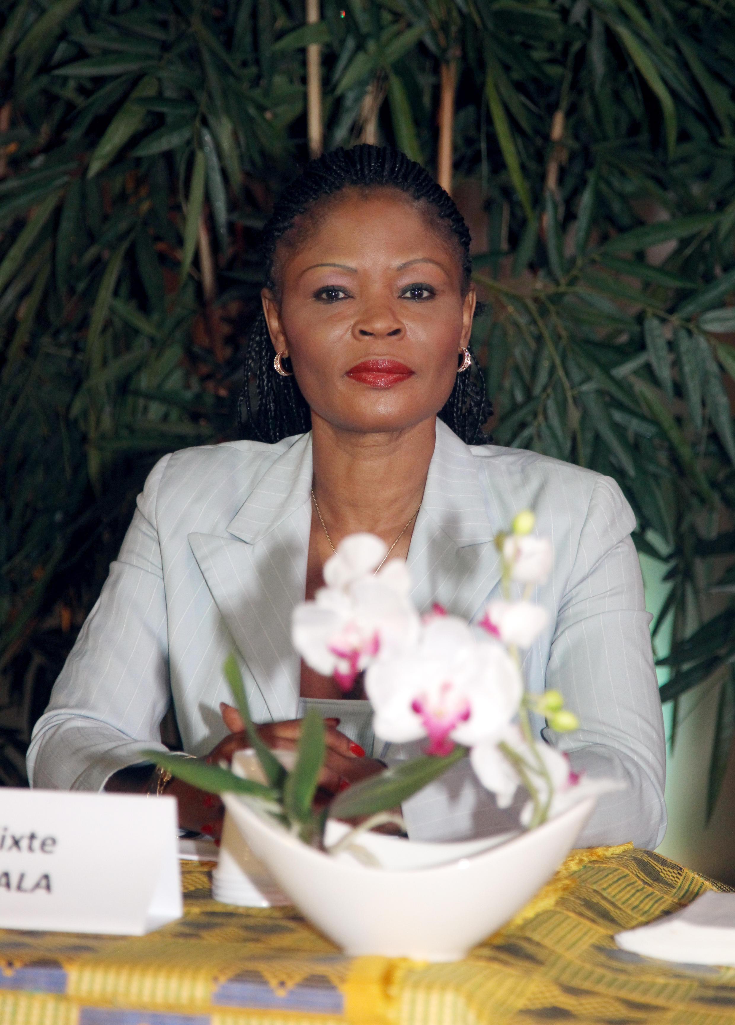 L'écrivain camerounais Calixthe Beyala, le 16 juillet à Paris.