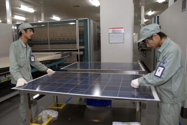 Pin năng lượng mặt trời Trung Quốc trong cuộc chiến thương mại giữa Trung Quốc và châu Âu