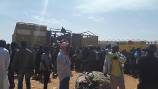 Les Nigériens refoulés d'Algérie