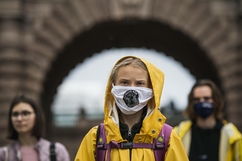 Swedish climate activist Greta Thunberg has had a running row with Donald Trump on social media