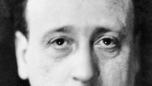 Portrait non daté du reporter français Albert Londres, disparu le 16 mai 1936.