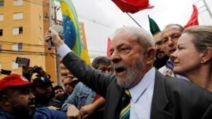 巴西前總統路易斯·伊納西奧·盧拉·達席爾瓦資料圖片
